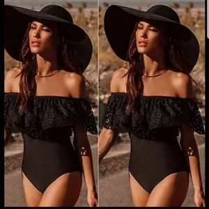 Other - Onepiece swimsuit off shoulder